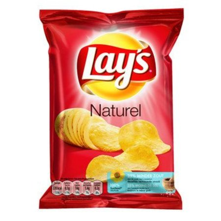 Lays Lays Chips Natural 40 Gram 20 Zakjes