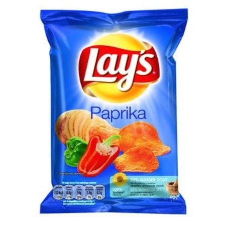 Lays Lays Chips Paprika 40 Gram 20 Zakjes