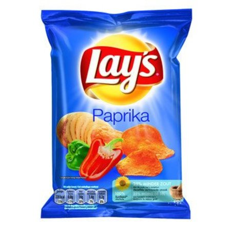 Lays Lays Paprika Chips 20 Zakken a 35 Gram