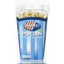 Jimmy's Popcorn Bak Zout 140 Gram 6 Stuks