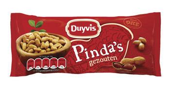 Duyvis Duyvis Gezouten Pinda's 60 Gram 20 Zakjes
