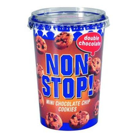 Nonstop! Double Chocolate Mini Chocolate Chip Cookies 125 Gram 8 Stuks