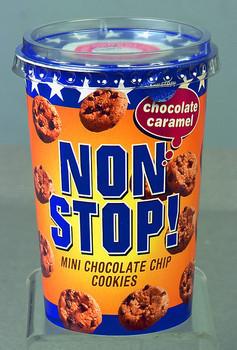 Nonstop! Chocolate Caramel 125 Gram 8 Stuks