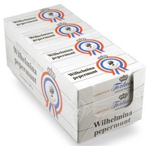 Wilhelmini Pepermunt 100 Gram 12 Stuks