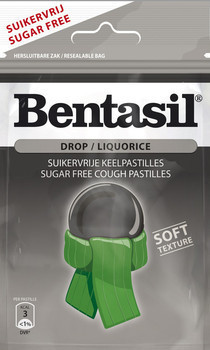 Bentasil Bentasil Drop Suikverij 32 Gram 12 Stuks