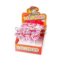 Felko - Mini Lolly's Sweetheart 20 Gram 24 Stuks