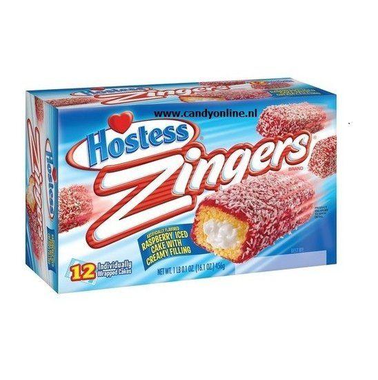 Hostess Hostess Zingers Raspberry 10 Stuks 360 Gram