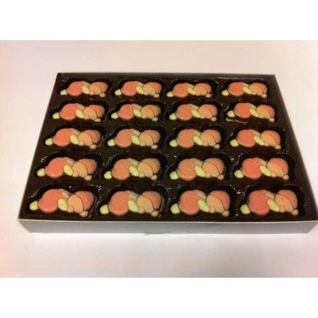 Overige Chocolade Baby's Roze 10 Stuks
