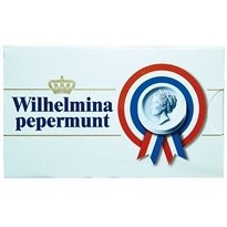 Wilhelmina Pepermunt Wilhelmini Pepermunt Doosje 100 Gram