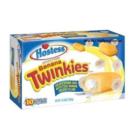 Hostess Hostess Twinkies Banana 10 Twinkies 385 Gram