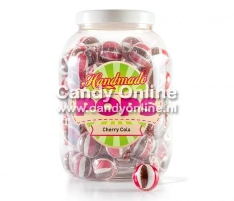 Hand Made Lollys Cherry Cola 70 Stuks