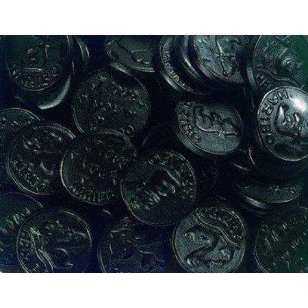 Haribo Drop Medailles Zoet 250 Gram