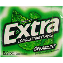 Wrigley's Extra Spearmint 15 Sticks