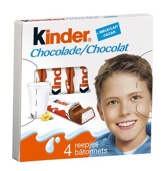 Ferrero Ferrero Kinderchocolade 50 Gram 20 Pakjes