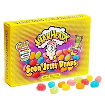 Warheads Sour Jelly Beans Box 113 Gram