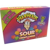 Warheads Sour Chewy Cubes 113 Gram
