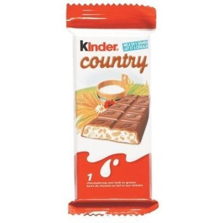 Ferrero Ferrero Kinder Country 40 Stuks