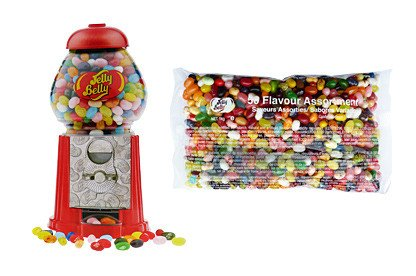 Jelly Belly Jelly Belly - Jellly Bean Machine   1 Kilo Jelly Beans