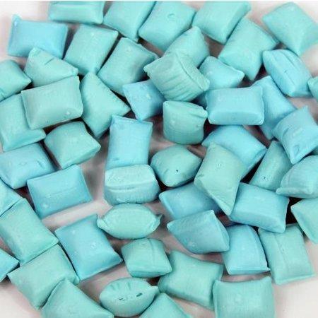 Overige Geboorte Snoep Kussentjes Blauw 200 Gram