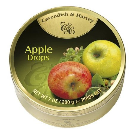 Cavendish & Harvey Cavendish & Harvey Apple Drops 200 Gram