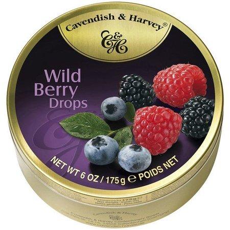 Cavendish & Harvey Cavendish & Harvey Wild Berry Drops 175 Gram