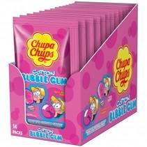 Chupa Chups - Cotton Gum Tutti Frutti 14 Stuks