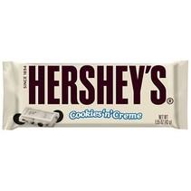 Hershey's White Cookies N' Creme Bar Gram
