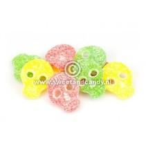 Bubs - Godis Zweedse Zure Fruit Doodskoppen 200 Gram