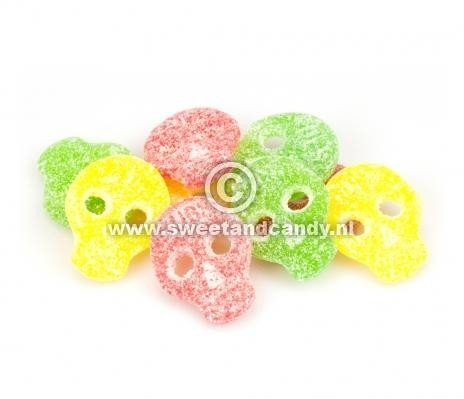 Bubs Bubs - Godis Zweedse Zure Fruit Doodskoppen 200 Gram