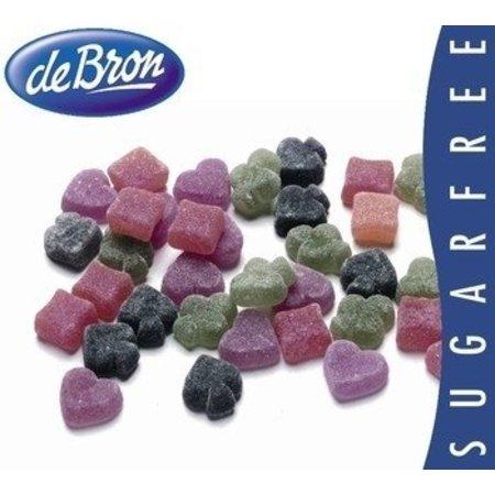 De Bron De Bron - Poker Fruit Suikervrij 200 Gram