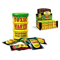 Toxic Waste Sour Candy Drum 42 Gram 12 Stuks