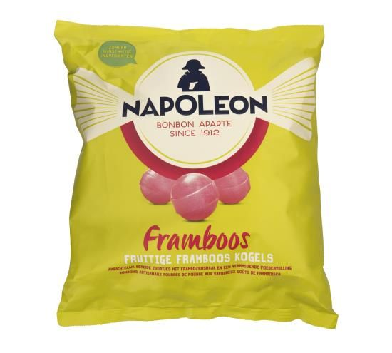 Napoleon Napoleon Wijnballen Framboos 5 Kilo