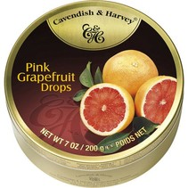 Cavendish & Harvey Pink Grapefruit Drops 200 Gram