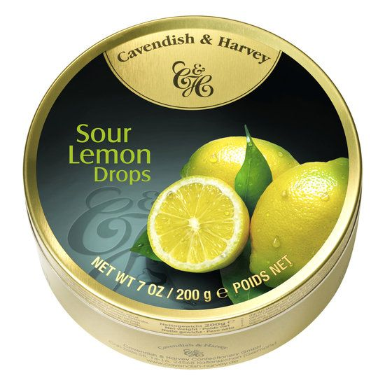 Image of Cavendish & Harvey Cavendish & Harvey Sour Lemon Drops 200 Gram 78282806