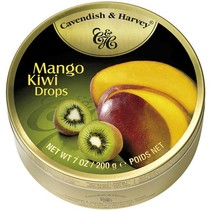 Cavendish & Harvey Mango Kiwi Drops 200 Gram