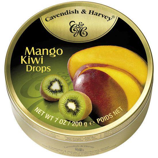 Cavendish & Harvey Cavendish & Harvey Mango Kiwi Drops 200 Gram
