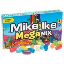 Mike & Ike Mega Mix Theatre Box 141 Gram ***Limited Edition****