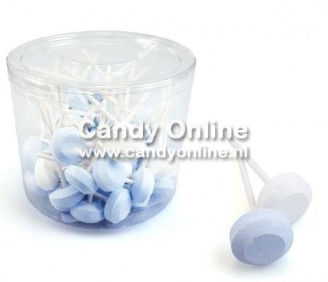 Dextrose Lolly's Wit/Blauw 500 Gram