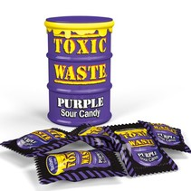 Toxic Waste Purple Sour Candy Drum 42 Gram