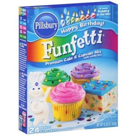 Pillsbury Pillsbury Funfetti Cake Mix 432 Gram