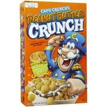 Cap'n Crunch Peanut Butter Cereals 355 Gram