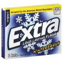 Wrigley's Extra Winterfresh 15 Sticks