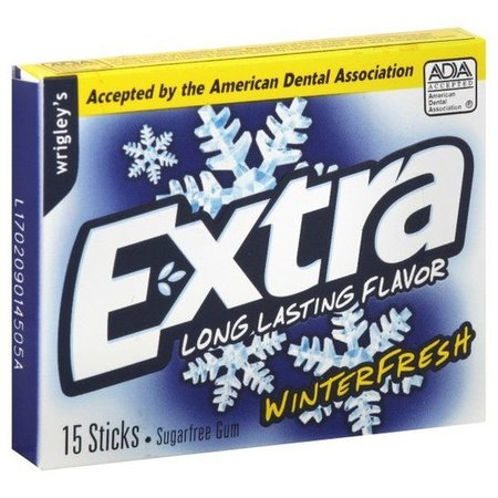 Wrigley's  Wrigley's Extra Winterfresh 15 Sticks