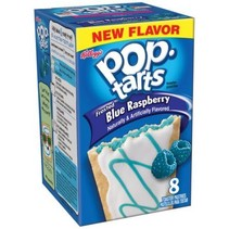 Kellogg's PopTarts Frosted Blue Raspberry 397 Gram