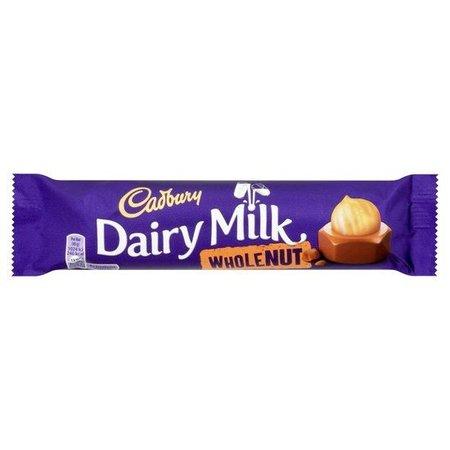 Cadbury Cadbury Dairy Milk Wholenut 45 Gram