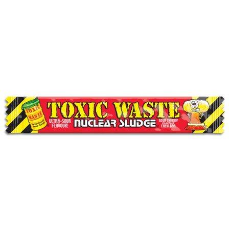 Toxic Waste Toxic Waste Nuclear Sludge Chew Bar Sour Cherry 20 Gram