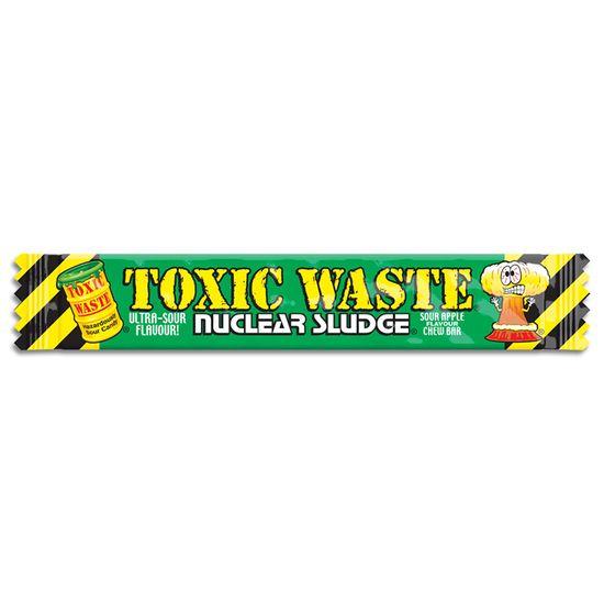 Toxic Waste Toxic Waste Nuclear Sludge Chew Bar Green Apple 20 Gram