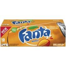 Fanta - Mango 355ml 12 Blikjes