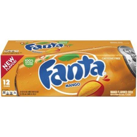 Fanta Fanta - Mango 355ml 12 Blikjes