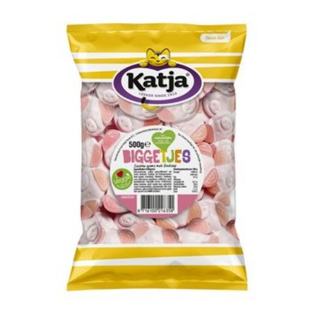 Katja Katja Biggetjes 500 Gram